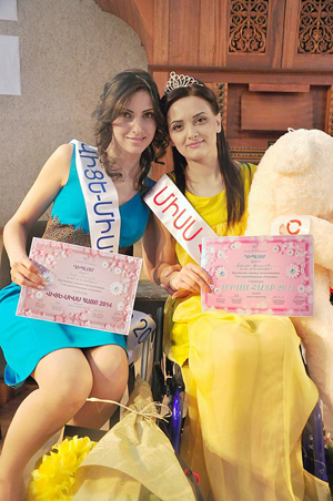 Miss Hayq 2014 and Vice-Miss